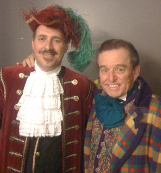Frank Sheftel and Jerry opening night Cinderella