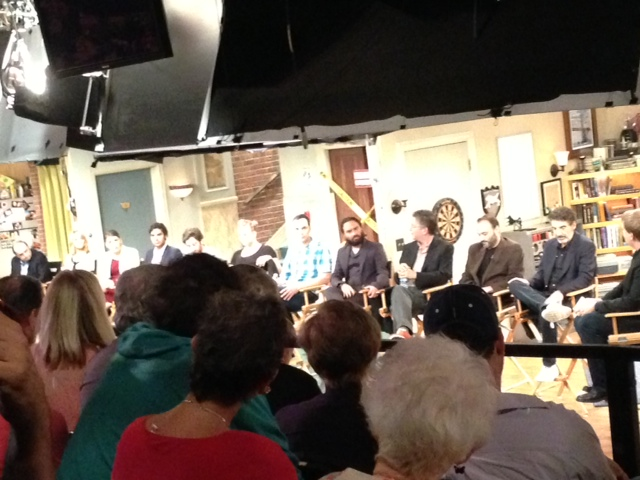 Big Bang Theory set with Jerry