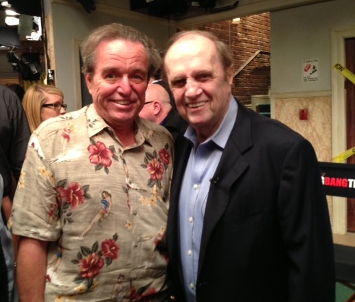 Bob Newhart and Jerry