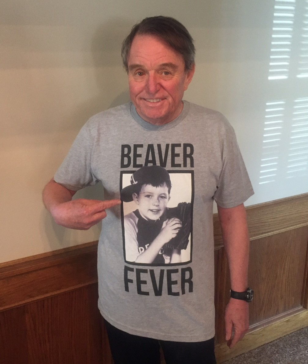 "Leave it to Beaver ""Beaver Fever"" t-shirts and sweatshirts are available!"